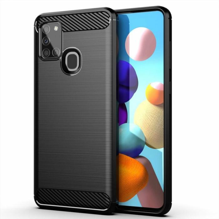 Husa silicon carbmat Samsung A20s [0]