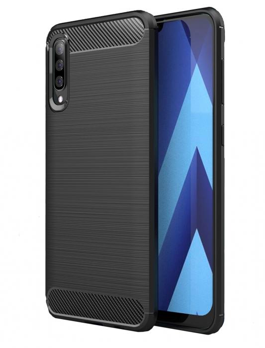 Husa silicon carbmat Samsung A70 0