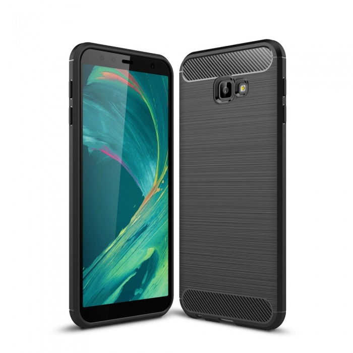 Husa silicon carbmat Samsung J4 Plus 0