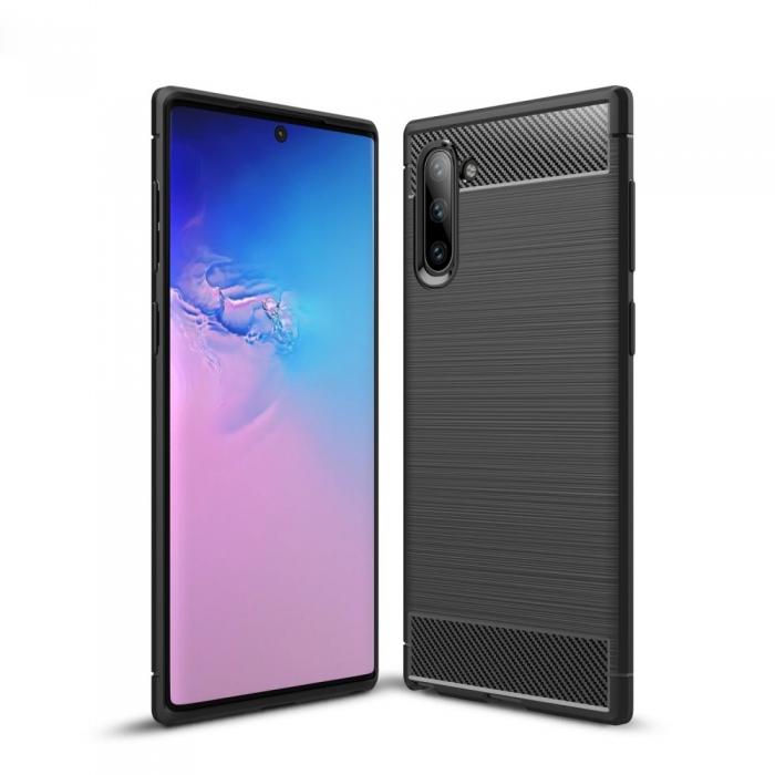 Husa silicon carbmat Samsung Note 10 0