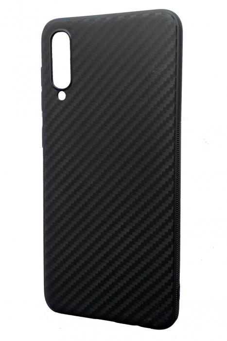 Husa silicon carbon 3 Samsung A50 - negru [0]