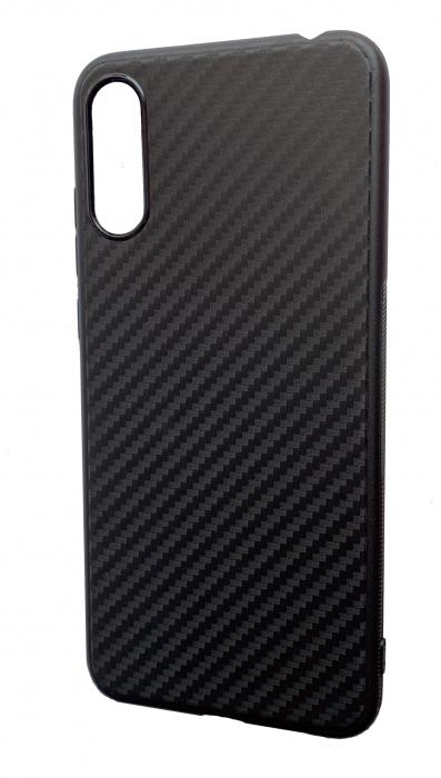 Husa silicon carbon 3 Samsung A70 - negru 0