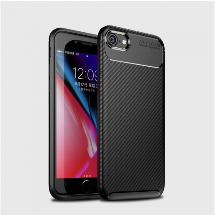 Husa silicon carbon 4 Iphone 8 - 3 culori 1