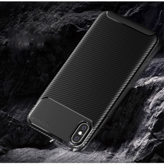 Husa silicon carbon 4 Iphone X/Xs - 3 culori 1