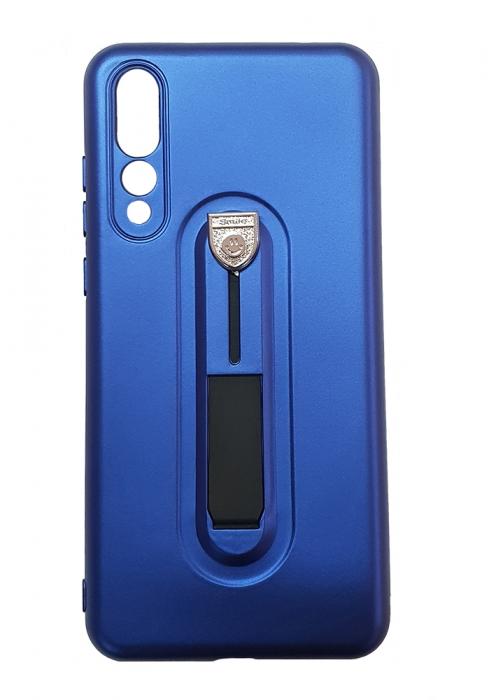 Husa silicon cu suport Huawei P20 pro - 3 culori 0