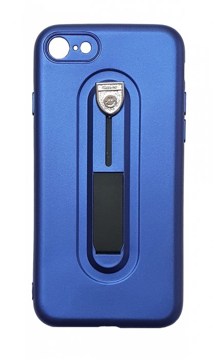 Husa silicon cu suport Iphone 8+ - 3 culori 0