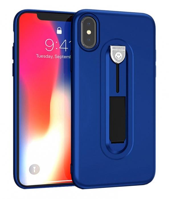 Husa silicon cu suport Iphone Xr - 3 culori [0]