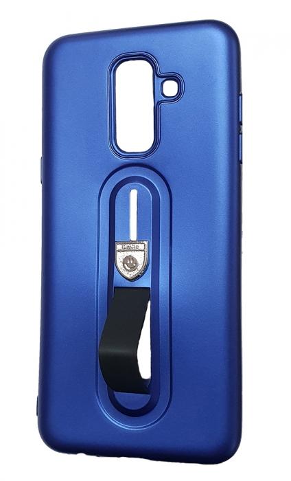 Husa silicon cu suport Samsung A5/A8 (2018) - 3 culori 1