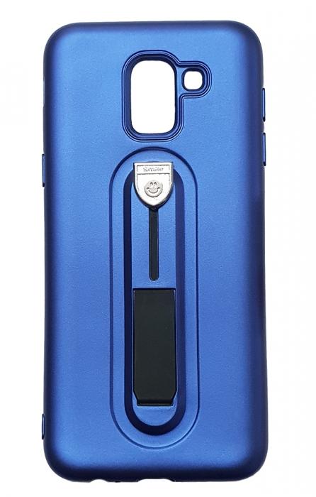 Husa silicon cu suport Samsung J6 (2018) - 3 culori 0