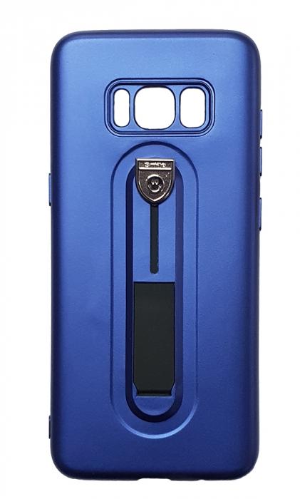 Husa silicon cu suport Samsung S8 - 3 culori 4