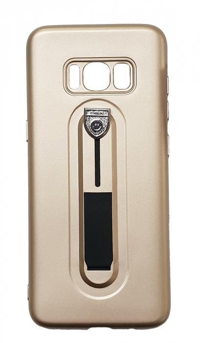 Husa silicon cu suport Samsung S8 - 3 culori 0