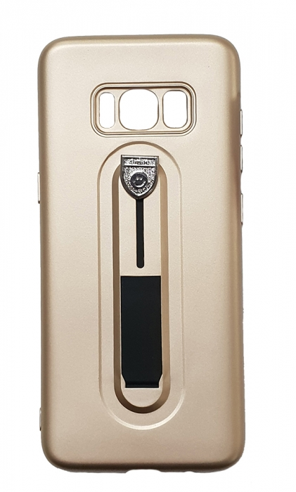 Husa silicon cu suport Samsung S8+ - 3 culori 2