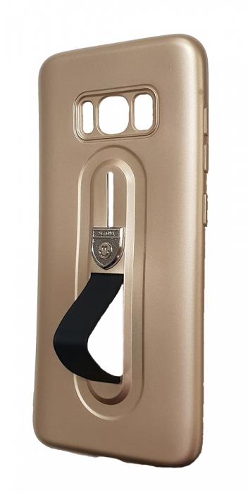 Husa silicon cu suport Samsung S8+ - 3 culori 3