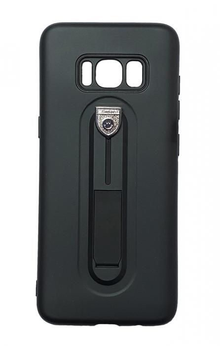 Husa silicon cu suport Samsung S8+ - 3 culori 0