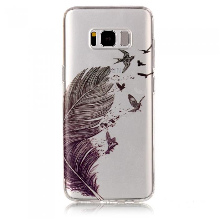 Husa silicon design matrita Samsung S8+ 2
