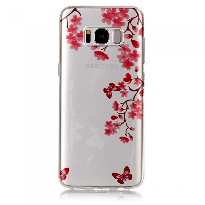 Husa silicon design matrita Samsung S8+ 1