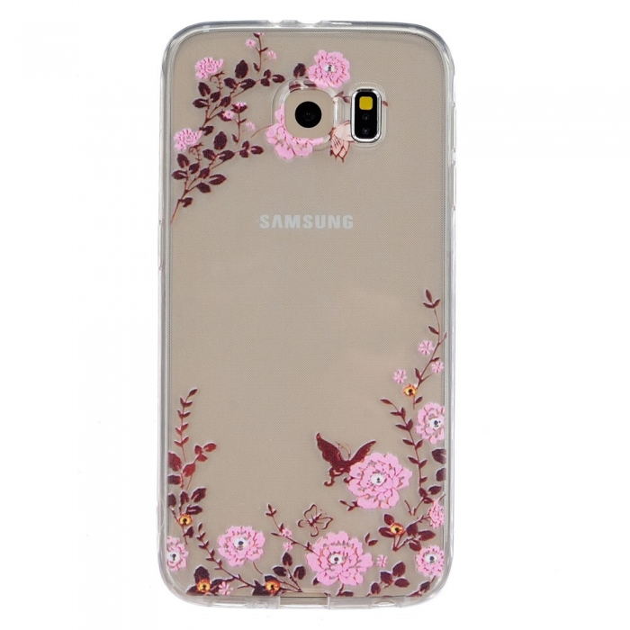 Husa silicon design printat Samsung S6  - 8 modele 0