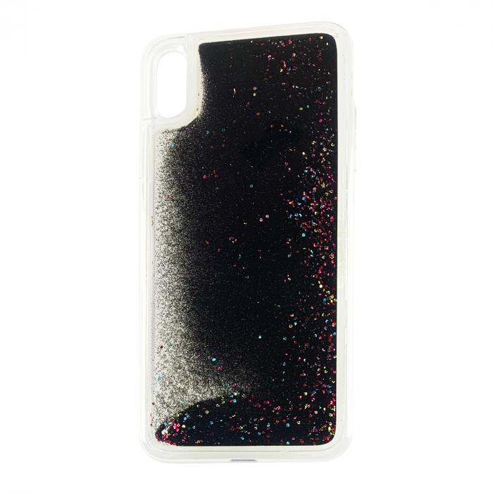 Husa silicon lichid-sclipici Iphone Xs Max - 5 culori 0