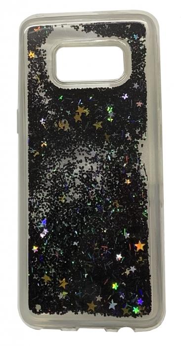 Husa silicon lichid-sclipici Samsung S8 - 4 culori 0