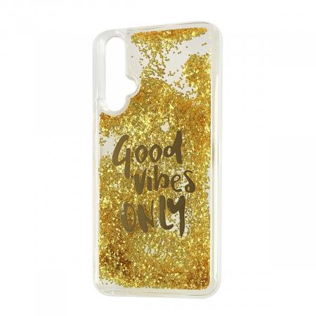 Husa silicon lichid Vibes Huawei Nova 5T - Gold [0]