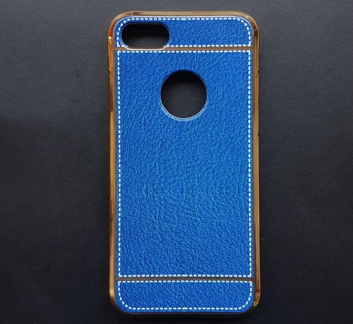 Husa silicon piele-cusatura Iphone 7 - 5 culori 0