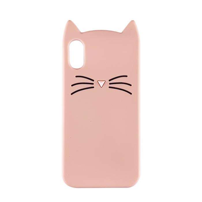 Husa silicon pisica Iphone Xr - 2 culori 0
