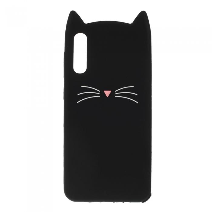 Husa silicon pisica Samsung A70 - 2 culori [0]