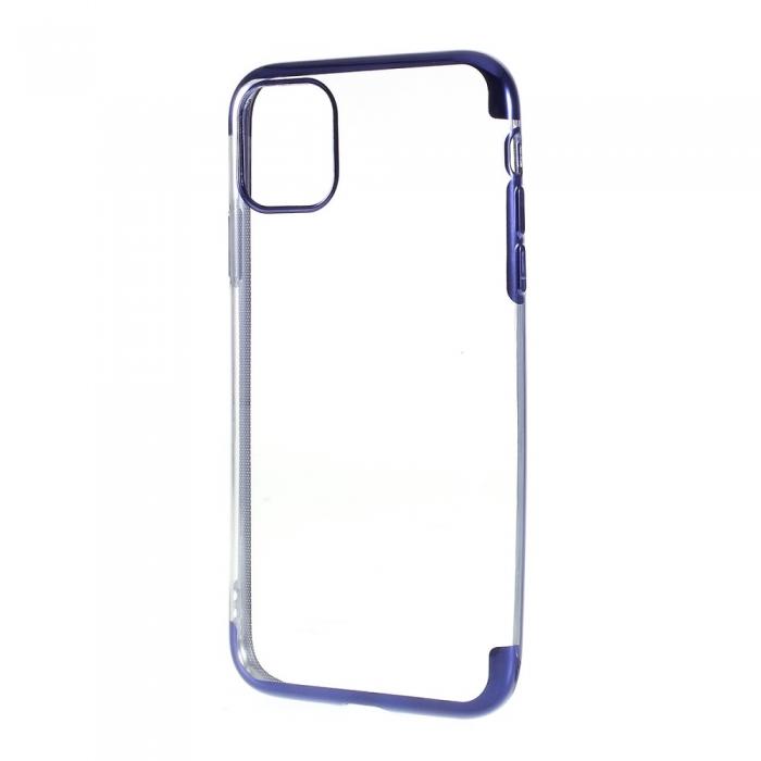Husa silicon placat margini Iphone 11 Pro - 4 culori 0