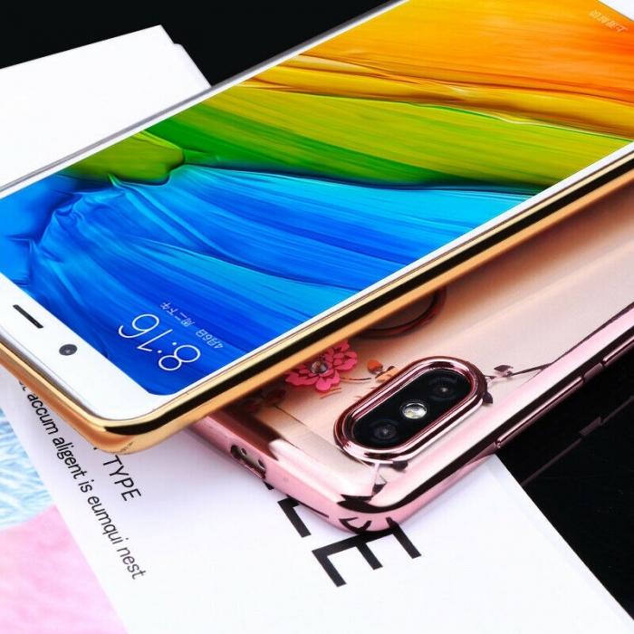 Husa silicon placata si pietricele Samsung A70 - 2 culori [0]