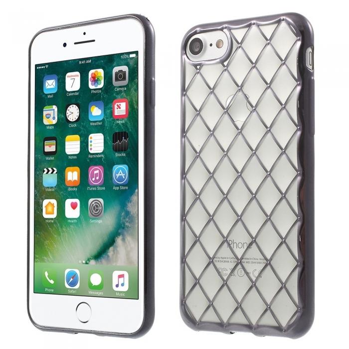 Husa silicon romb 3d Iphone 7/8 - 3 culori 0