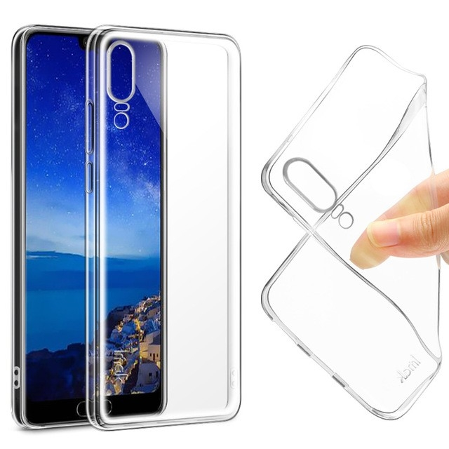 Husa silicon slim Huawei P20 - 2 culori 1