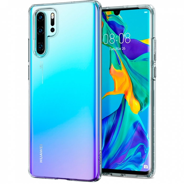 Husa silicon slim Huawei P30 Pro - transparent 0