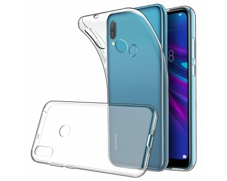 Husa silicon slim Huawei Y6 (2019) - transparent 0
