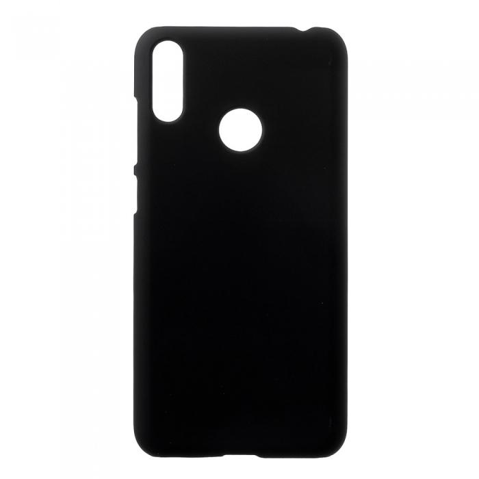 Husa silicon slim mat Huawei Y5 (2019) - negru [0]
