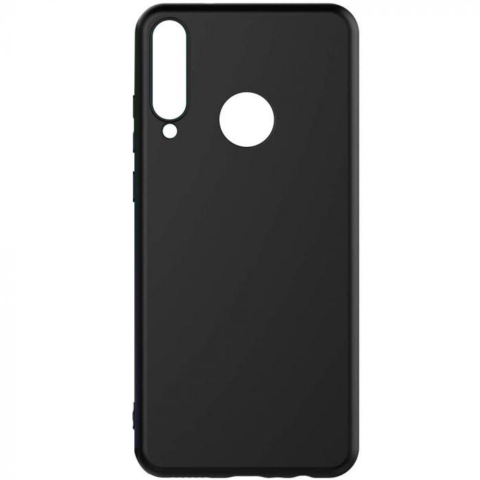 Husa silicon slim mat Huawei Y6P - Negru [0]