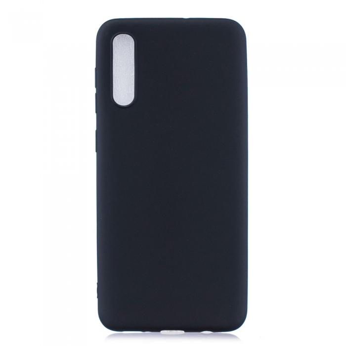 Husa silicon slim mat Samsung A71 - negru 0