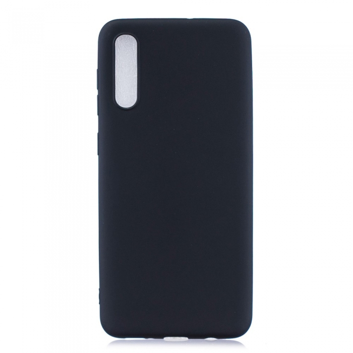 Husa silicon slim mat Samsung A41 - negru 0