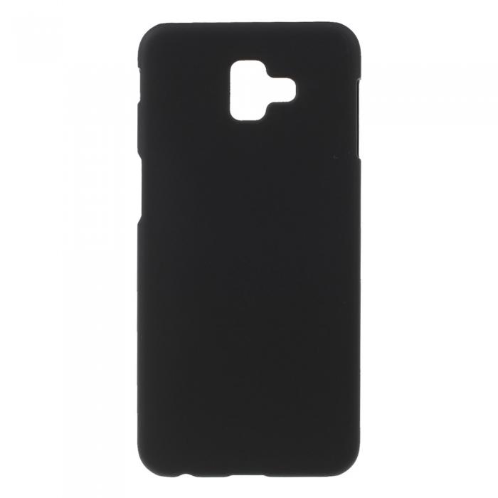 Husa silicon slim mat Samsung J6 + (2018) - negru [0]