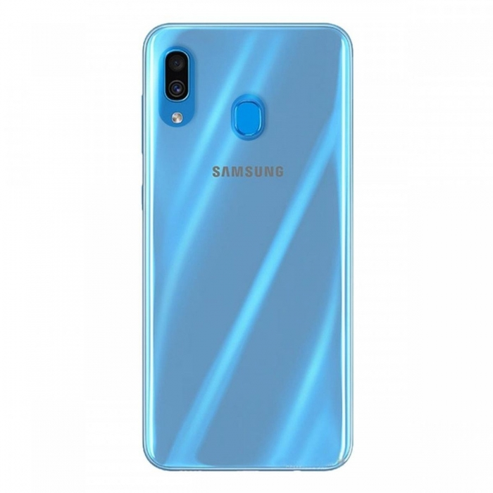 Husa silicon slim Samsung A40, Transparent 0