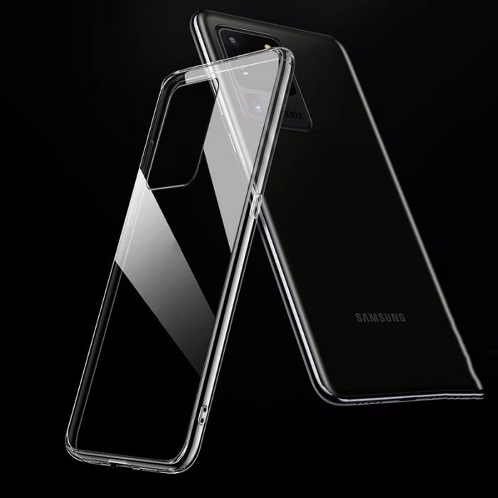 Husa silicon slim Samsung A71, Transparent 0