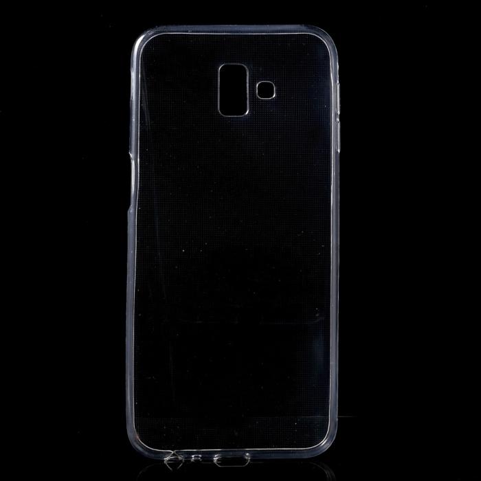 Husa silicon slim Samsung J6 + - transparent 0