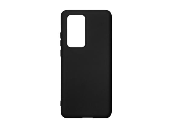 Husa silicon soft mat Huawei P40 Pro - Negru [0]