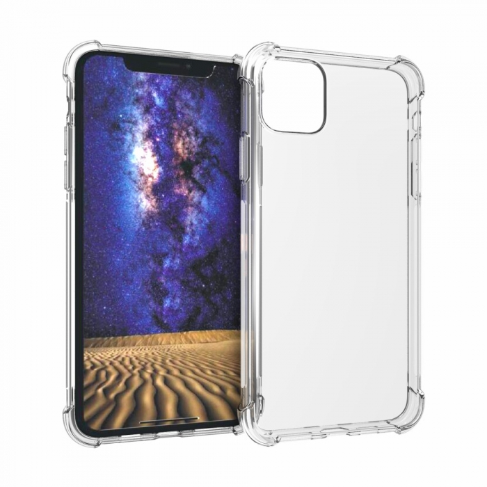 Husa silicon transparent anti shock Iphone 11 Pro [0]