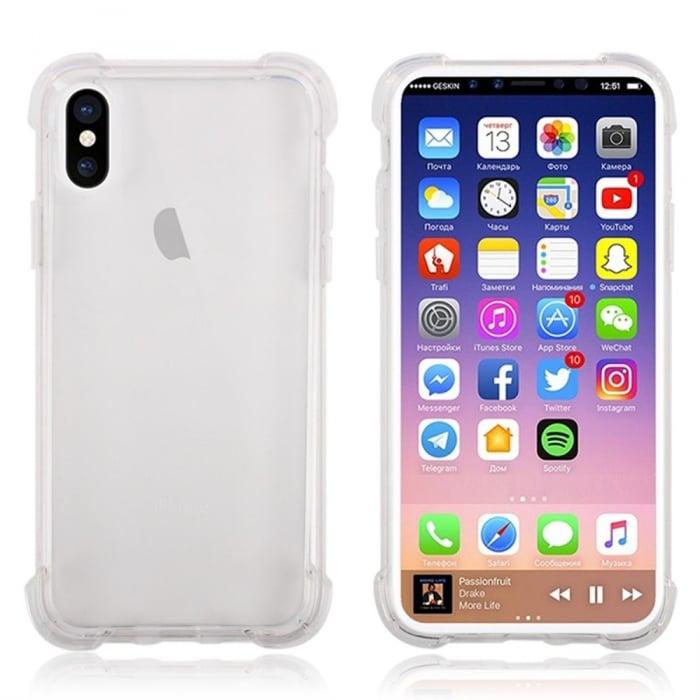 Husa silicon transparent anti shock Iphone Xr 0