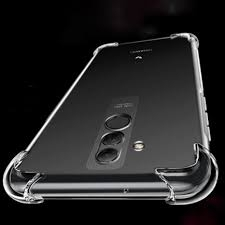 Husa silicon transparent anti shock Mate 20 Lite 0