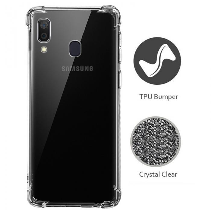 Husa silicon transparent anti shock Samsung A20E [0]