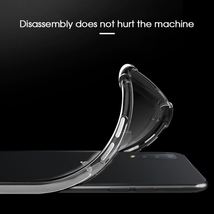 Husa silicon transparent anti shock Samsung A40 [1]