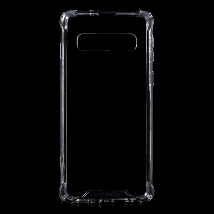 Husa silicon transparent anti shock Samsung S10 0