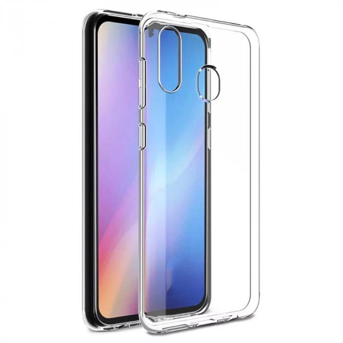 Husa silicon transparent anti shock Samsung A20s [0]