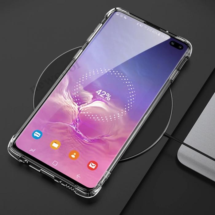 Husa silicon transparent anti shock Samsung S10E 0